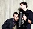 Die Ausnahmemusiker Emile Parisien & Vincent Peirani aus Frankreich spielen am 10.06. in der Stüler Kirche Peitz. Foto: pr/Grosse-Geldermann