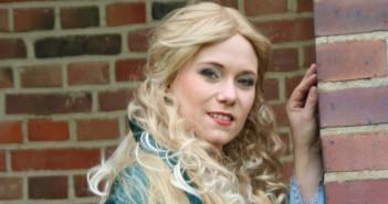 Stefanie Masnik spielt Woda, die Tochter des Wassermanns Foto: Urban Ruths