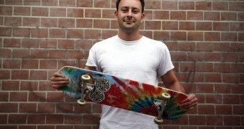 Michael Wernitz organisiert das 7. Game of Skate. Foto: TSPV