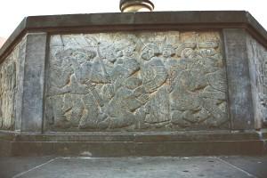 Brunnenfries – kraftvolle Sprache: Ein Cottbuser predigt zu Cottbusern.