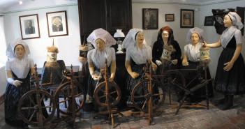 Spinnstube, Fotos: Museum