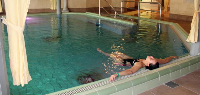 Schön baden in den Spreewelten. Foto: Alexa