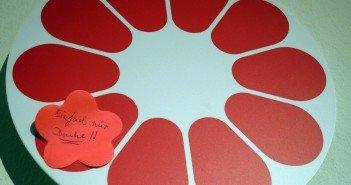 Altstadtmillion – rote Blume