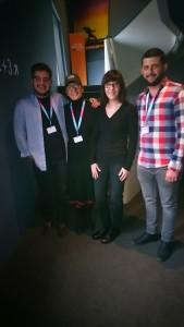 Die albanische Delegation