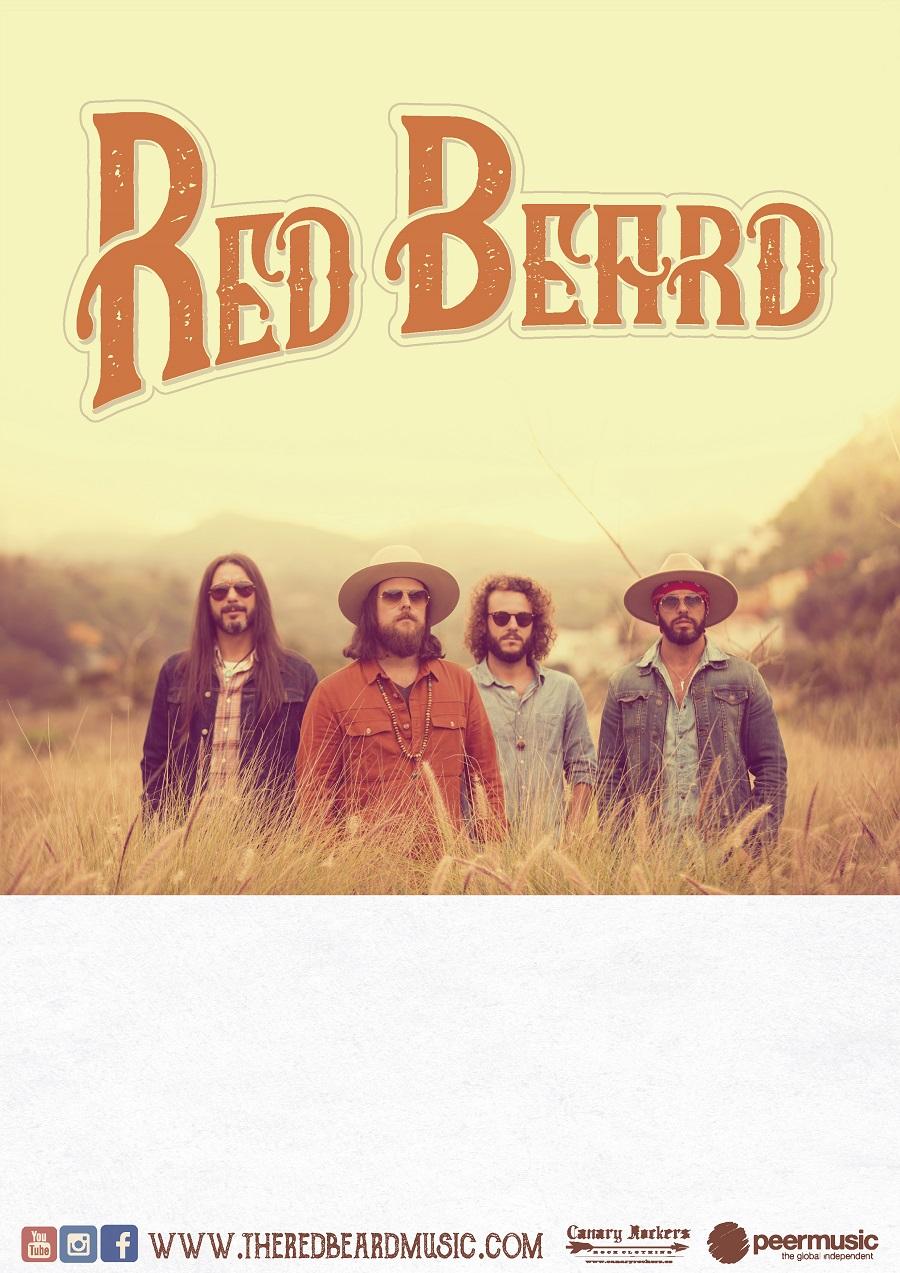 The Red Beard spielen am 15. Dezember im Kesselhauslager Singwitz. Foto: PR
