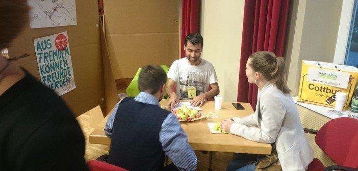 """Lebendige Bibliothek"" in Cottbus"