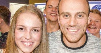 Sie sind seit Jahren die Erfolgsgaranten: Emma Hinze und Maximilian Levy. Foto: GZ