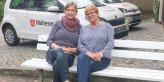 Kerstin Klinke und Gabriele Bannach vom Malteser Besuchs- und Entlastungsdienst. Foto: AR