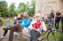 Lesen in allen Situationen mit Klaus Wilke Foto: TSPV