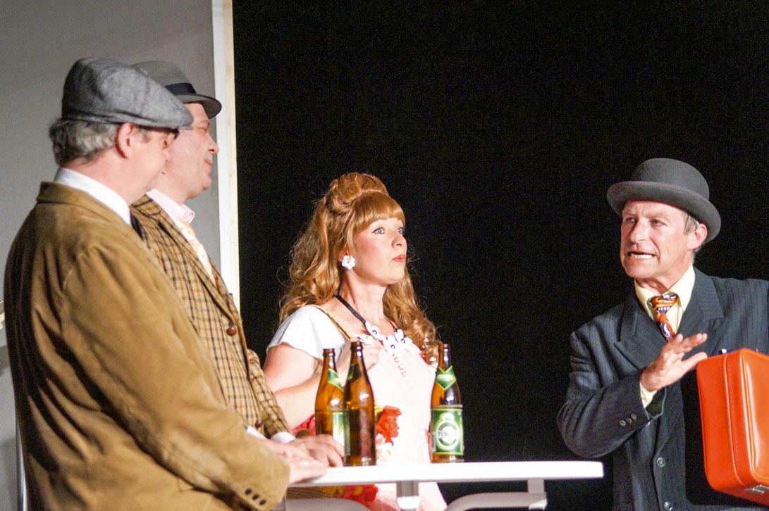 Silvia Burza spielt Ivonne. Foto: Hensel