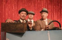 Egon Olsen (Matthias Greupner), Benny (Nico Bobrzik) und Kjeld (Michael Apel) geben wieder alles. Foto: Qu. Nopper