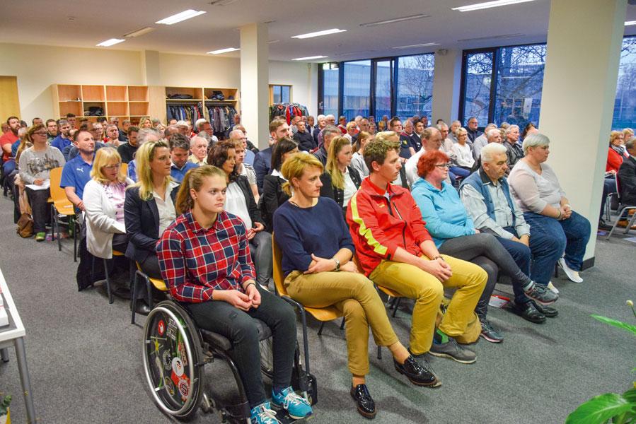 Mitgliederversammlung des Stadtsportbund Cottbus.