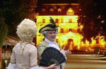 Schlossherr Carl Heinrich von Heineken gibt sich die Ehre.