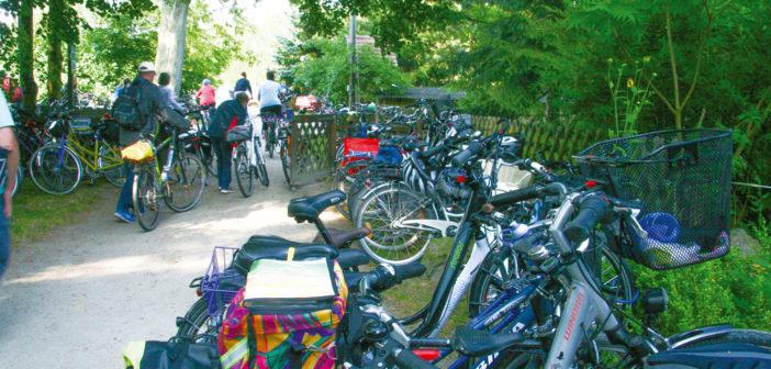 Musikalische Radtour erstmals mit privatem Künstlergarten