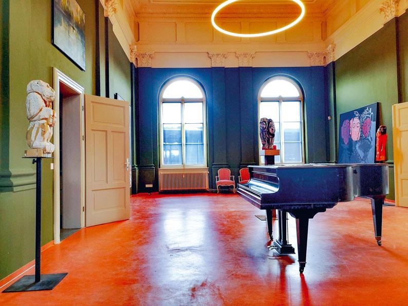 Blick in die Galerie. Foto: TSPV