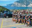 Am Gardasee bot sich den Bolztern ein prächtiges Bild Fotos: Veloteam