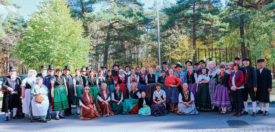 Bunte Vielfalt: Erinnerung an den Tag der Tracht 2018 Foto: Dr. Frank Knorr