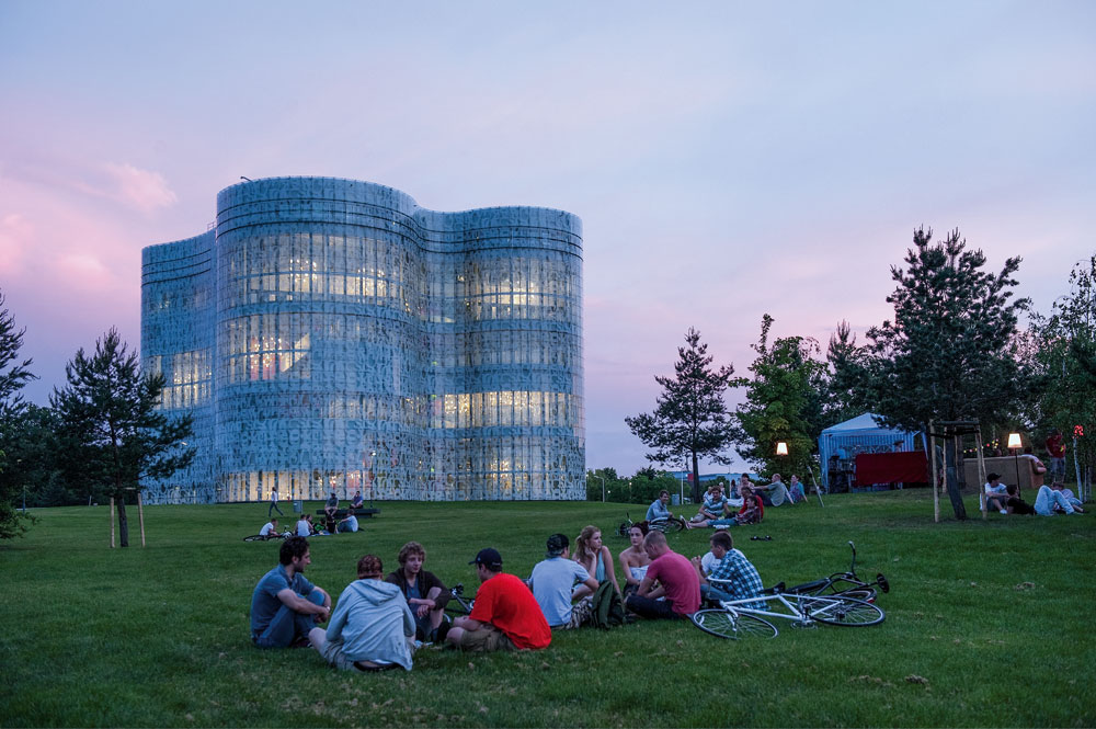 Das IKMZ. Hier findet die Ausstellung statt ©BTU Cottbus-Senftenberg.