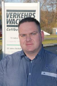 – Manuel Helbig, Geschäftsführer der Verkehrswacht Cottbus e.V. Foto: Jan Hornhauer