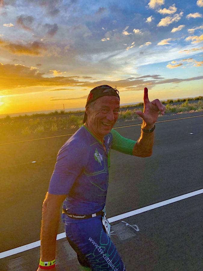 An der eigenen Zielvorgabe vorbei – dennoch glücklich und zufrieden nach dem Iron Man: Hans Joachim Weißflog