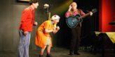 Der SachsenDreyer mit Matthias Greupner, Sylvia Burza und Matthias Härtig Foto: Queenie Nopper