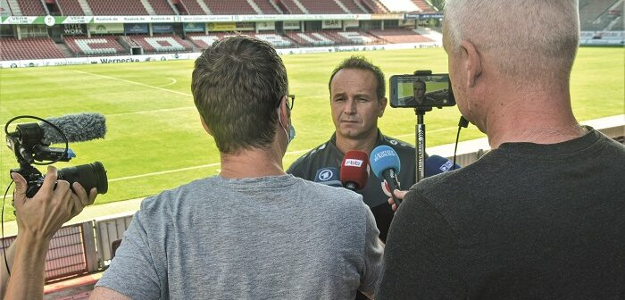 Dirk Lottner will den FCE zunächst einmal aus dem Keller holen